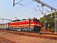 रतलाम-चित्तौड़गढ़ सेक्शन में गणतंत्र दिवस बाद बिजली इंजिन से दौड़ेंगी ट्रेनें, नई गाड़ियां चलाने में आसानी होगी|रतलाम,Ratlam - Dainik Bhaskar