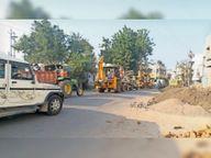 अतिक्रमण तोड़ने के लिए रवाना हुआ अमला रास्ते से ही लौटा|बड़वानी,Barwani - Dainik Bhaskar