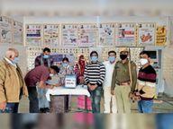 वैक्सीन का 10 का ग्रुप फिर अधूरा, दूसरे दिन की सूची से नहीं बुलाए, 23 डोज और खराब|डूंगरपुर,Dungarpur - Dainik Bhaskar
