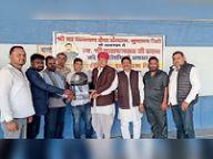 कुचामन सिटी में शिविर, 556 यूनिट रक्त संग्रहित, सभी रक्तदाताओं को बांटे हेलमेट|नागौर,Nagaur - Dainik Bhaskar