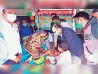 सामुदायिक स्वास्थ्य केंद्र घरघोड़ा में शिशु संरक्षण महीने का हुआ शुभारंभ|रायगढ़,Raigarh - Dainik Bhaskar