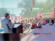 नाहड़ में कानूनी साक्षरता प्रतियोगिता विभिन्न स्कूलों के बच्चों ने लिया भाग|रेवाड़ी,Rewari - Dainik Bhaskar