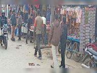 नपा ने मेन बाजार से अतिक्रमण हटवा कर जाम से दिलाई राहत|महेंद्रगढ़,Mahendragarh - Dainik Bhaskar