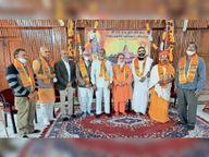 गाेभक्त पीतलिया ने भेंट किए 41 लाख रुपए 31 से घर-घर कार्यकर्ता जाकर करेंगे संग्रह|भीलवाड़ा,Bhilwara - Dainik Bhaskar