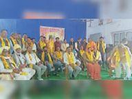 अयोध्या में श्रीराम मंदिर निर्माण के लिए भामाशाह सहित कई लोगों ने दी राशि|टोंक,Tonk - Dainik Bhaskar