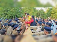 प्रवक्ता बोले- एक हजार भाजपाई गिरफ्तार, पुलिस-349 को पकड़ा|धमतरी,Dhamtari - Dainik Bhaskar