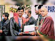 हनीश ने थापर यूनिवर्सिटी में बेचलर ऑफ इंजीनियरिंग इन इलेक्ट्रॉनिक्स एंड कंप्यूटर में जीता गोल्ड मेडल|बरनाला,Barnala - Dainik Bhaskar