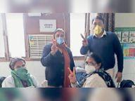 249 हेल्थ वर्करों का हुआ टीकाकरण|संगरूर,Sangrur - Dainik Bhaskar