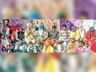 सरबत के भले के लिए श्री अखंड पाठों की लड़ी के भोग संपूर्ण किए|मोगा,Moga - Dainik Bhaskar