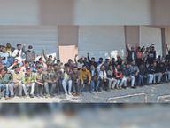 ऑपरेटर बोले- पहले दो साल का वेतन दो, अधिकारियों का तर्क- गेहूं खराब होने से भुगतान अटका|उज्जैन,Ujjain - Dainik Bhaskar