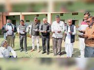 कानूनगाे संघ के नंगवाड़िया जिलाध्यक्ष, तंवर सभाध्यक्ष बने|नागौर,Nagaur - Dainik Bhaskar