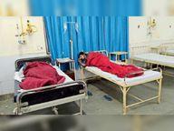 चाेरी के मामले में हिरासत में लिए दो युवकों ने सदर थाना में खाई फिनाइल की गोलियां, भर्ती|श्रीगंंगानगर,Sriganganagar - Dainik Bhaskar