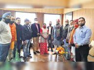 काेराेना काल में जनता की उम्मीदें पूरा करने वाला हो बजट : बिरला|उदयपुर,Udaipur - Dainik Bhaskar