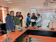बालिका दिवस पर 41 बालिकाओं को किया सम्मानित, 3 आंगनबाड़ी केंद्रों का लोकार्पण|अशोकनगर,Ashoknagar - Dainik Bhaskar