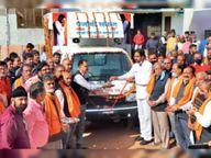 विशेष बैकुंठ रथ श्मशान तक पहुंचाएगा पंजाबी समाज|अशोकनगर,Ashoknagar - Dainik Bhaskar