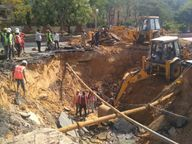 जयपुर में चौंमू हाउस सर्किल पर डैमेज सीवर लाइन के निर्माण का काम शुरू, 3-4 दिन बंद रहेगा सरदार पटेल मार्ग|जयपुर,Jaipur - Dainik Bhaskar