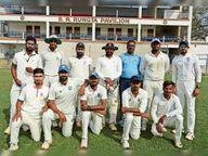 सेरसा चक्रधरपुर टीम सेमीफाइनल में पहुंची चाईबासा,Chaibasa - Dainik Bhaskar