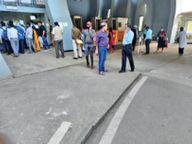 बैन खुला तो समस्या लेकर मंत्रालय में पहुंचने लगे आवेदक|रायपुर,Raipur - Dainik Bhaskar