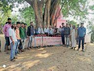 नर्मदा तट पर घाट नहीं बना तो 106 गांव का पानी रोका|उदयपुरा,Udaypura - Dainik Bhaskar