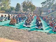 स्कूल में मनाई जयंती, अनुशासित रहने की दी सीख शाजापुर (उज्जैन),Shajapur (Ujjain) - Dainik Bhaskar