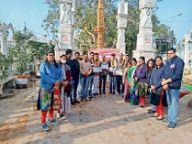 नेताजी सुभाष चंद्र बोस की जयंती पराक्रम दिवस के रूप में मनाई वक्ताओं ने उनके आदर्शों को जीवन में अपनाने की अपील की सीकर,Sikar - Dainik Bhaskar