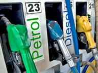 23 दिन में 8वीं बार बढ़े दाम; जयपुर में पेट्रोल 93.2, गंगानगर में 97.5 रु. लीटर|जयपुर,Jaipur - Dainik Bhaskar