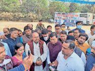 काेचिंग संस्थानाें काे खाेलने के लिए उपवास पर रहे संचालक|जमशेदपुर,Jamshedpur - Dainik Bhaskar