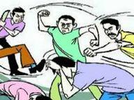 जवाहर नगर में दो पक्षों में विवाद; पांच आरोपियों के खिलाफ केस, शराब पीने के लिए रुपए मांगने को लेकर विवाद की हुई शुरुआत|रतलाम,Ratlam - Dainik Bhaskar