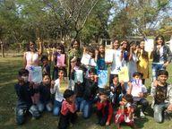 राष्ट्रीय बालिका दिवस पर सेलिब्रेशन, बच्चों ने सीखे जीवन के पाठ|भोपाल,Bhopal - Dainik Bhaskar