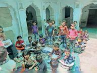 निरीक्षण में न बच्चों के मास्क थे, ना ही टीचर के; बच्चों को बुला रहे दो स्कूलों को दिए नोटिस|पाली,Pali - Dainik Bhaskar