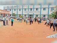 प्रश्न पत्र बंटने के बाद हुई 10वीं की परीक्षा स्थगित|जांजगीर,Janjgeer - Dainik Bhaskar