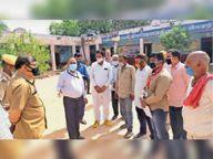 पर्यवेक्षक ने सहाड़ा तहसील के मतदान केंद्रों का किया निरीक्षण, चुनाव आयोग की ओर से नियुक्त सामान्य पर्यवेक्षक अमित कुमार घोष सहाड़ा पहुंचे|भीलवाड़ा,Bhilwara - Dainik Bhaskar