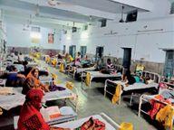पहली बार एक दिन में 245 संक्रमित, दाे माैतें भी,1300 से अधिक एक्टिव मरीज, आकोला में 3 दिन लॉकडाउन|भीलवाड़ा,Bhilwara - Dainik Bhaskar