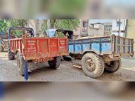एनएच पर की गयी वाहनों की जांच, जैसे-तैसे भागते दिखे लोग|पटना,Patna - Dainik Bhaskar