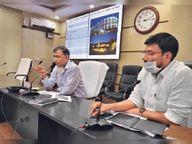लेजर शो, बोट व चिल्ड्रेन पार्क के साथ अदालतगंज तालाब का मई तक पूरा होगा काम, जून में चालू होंगे 9 जनसेवा केंद्र|पटना,Patna - Dainik Bhaskar
