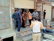 बेवजह बाजार में घूमते मिले लोग, चोरी-चुपके ज्वेलर्स कर रहा था व्यापार, दुकान की सील|राणापुर,Ranapur - Dainik Bhaskar