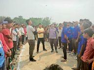 बलुआ बाजार हरा फतेहपुर फाइटर ने लीग पर जमाया कब्जा|नरपतगंज,Narpatganj - Dainik Bhaskar