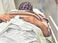 बाइक सवार बदमाशों ने कोल्ड ड्रिंक डिस्ट्रीब्यूटर को गोली मारी, 8 लाख लूटे जयपुर,Jaipur - Dainik Bhaskar
