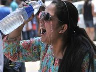 पछुवा चलने से फिर बढ़ी गर्मी पर दो दिन बाद मिलेगी राहत|भागलपुर,Bhagalpur - Dainik Bhaskar