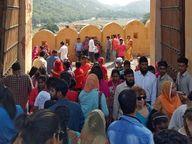 तमाम मेलों पर 30 अप्रैल तक रोक, कलेक्टर ने जारी किए आदेश; 11 दिन में 5 हजार से ज्यादा आए हैं संक्रमण के केस|जयपुर,Jaipur - Dainik Bhaskar