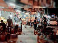 नाइट कर्फ्यू की पहली रात बेअसर, खुली रही दुकानें, घूमते रहे लोग|पानीपत,Panipat - Dainik Bhaskar
