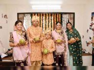 मुंबई में कपड़ाें का व्यापार और लाखाें का टर्नओवर; 9 साल पहले बेटे ने ली थी दीक्षा, अब परिवार के पांच सदस्य अपनाएंगे संयम पथ|आबूराेड,Abu road - Dainik Bhaskar
