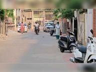 पिछले साल कंटेनमेंट क्षेत्राें में पुलिस रहती थी तैनात, पर अब व्यवस्था लाेगाें के भराेसे|अजमेर,Ajmer - Dainik Bhaskar