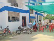 वैक्सीनेशन सेंटर का बदला स्थान, अब बनाया जा रहा 16 बेड का कोरोना वार्ड होशंगाबाद,Hoshangabad - Dainik Bhaskar