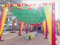 मंदिर में नहीं बजा सकेंगे घंटा, बिना मास्क एंट्री नहीं, सूखे मेवे का प्रसाद करनाल,Karnal - Dainik Bhaskar