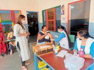 जिले में 25 हजार से ज्यादा डाेज, लगवाने नहीं आ रहे लाेग|पानीपत,Panipat - Dainik Bhaskar