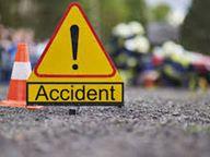 मिनी बस में ट्रक ने मारी टक्कर, आईओसीएल के तीन कर्मियों की माैत, 9 गंभीर रूप से घायल|मुजफ्फरपुर,Muzaffarpur - Dainik Bhaskar