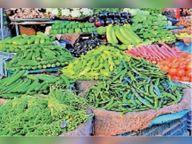 टिंडा, करेला 50 तो नींबू 140 रुपए किलाे में बिक रहा|बांसवाड़ा,Banswara - Dainik Bhaskar