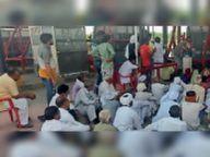 भाजपा किसान मोर्चा के प्रदेशाध्यक्ष बरवाला अनाज मंडी पहुंचे, किसानों के विराेध के अंदेशे पर लाैटे वापस|हिसार,Hisar - Dainik Bhaskar