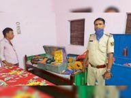 सरैया में गृहस्वामी को बंधक बना कर लाखों की संपत्ति चोरी|मुजफ्फरपुर,Muzaffarpur - Dainik Bhaskar